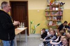 Więcej o: Spotkanie z pisarzem Marcinem Pałaszem