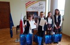 """Więcej o: Konkurs wiedzy o Unii Europejskiej """"Eurodyta 2019"""""""
