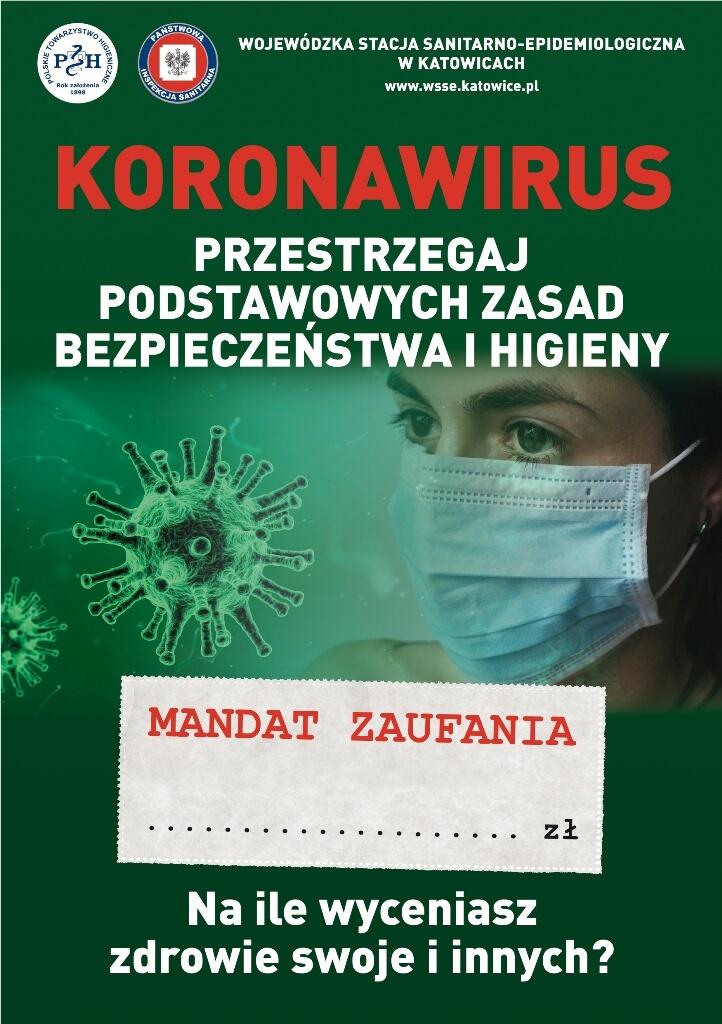 koronawirus-przestrzegaj zasad